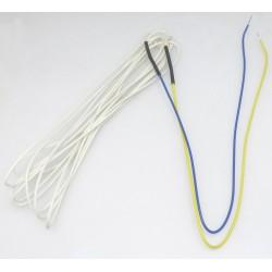HEATER WIRE GL BRAID 160`` 220V 3.5W/FT 20`` YELLOW/BLUE LEADS - GEHQ4443
