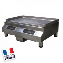 PLANCHA A INDUCTION 2 ZONES 3600W 230V - NIQ6750