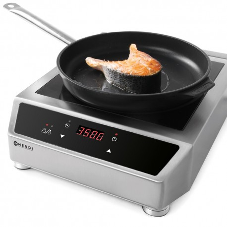 PLATES OF COOKING WITH INDUCTION HENDI 3500W 230V - URQ6757