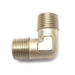 RACCORD CHROME COUDE 3/8 M - 3/8 M ORIGINE