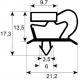 JOINT DE PORTE ORIGINE MERCATUS L:1395MM L:545MM - ZRQ6687