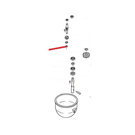ROULEMENT ENGRENAGE LAITON ORIGINE THUNDERBIRD - GUQ6622