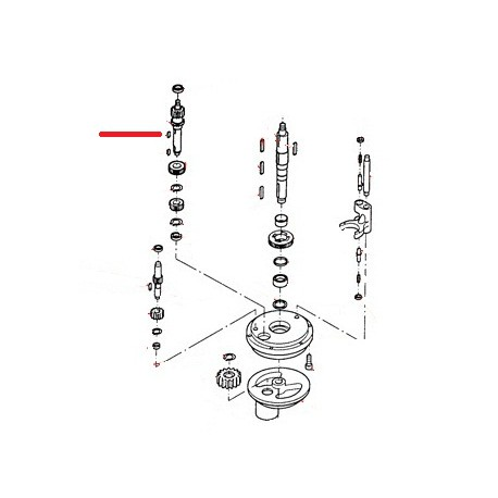 GOUPILLE ARBRE TRANSMISSION ORIGINE THUNDERBIRD - GUQ6510
