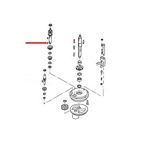 GOUPILLE ARBRE TRANSMISSION ORIGINE THUNDERBIRD - GUQ6511