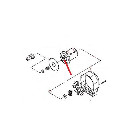 ARBRE MOTEUR ORIGINE THUNDERBIRD - GUQ6702