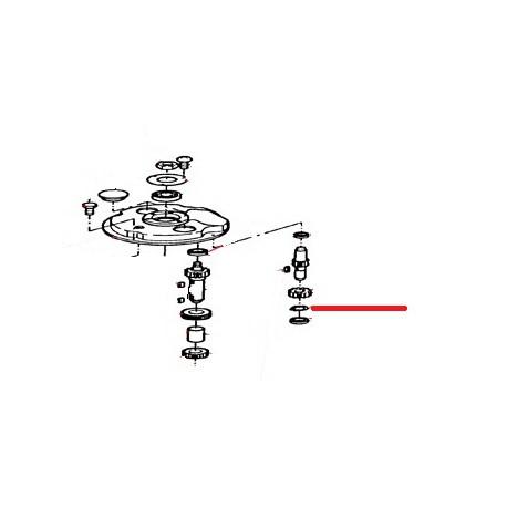 ANNEAU ELASTIQUE POUR ORIGINE THUNDERBIRD - GUQ6583