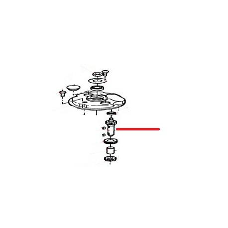 ENTRETOISE POUR ARBRE TRANSMISSION ORIGINE THUNDERBIRD - GUQ6664
