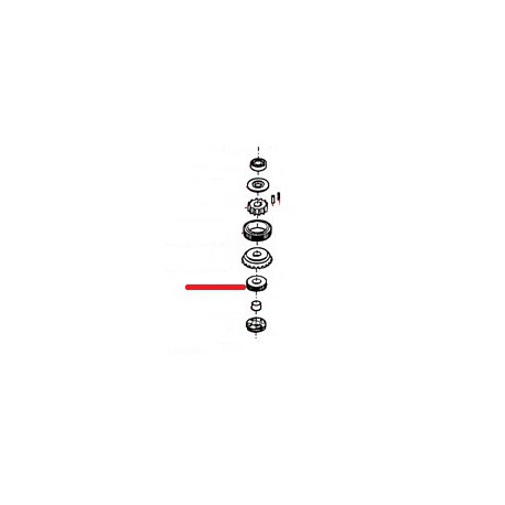 ENGRENAGE POURT EMBRAYAGE ORIGINE THUNDERBIRD - GUQ6750