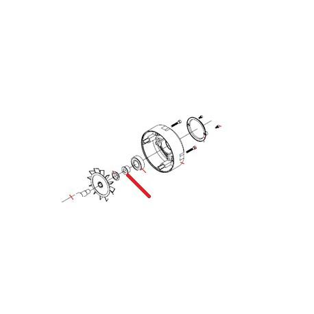 RIDUZIONE X CUSCINETTO ORIGINE FAMA - SNQ6510