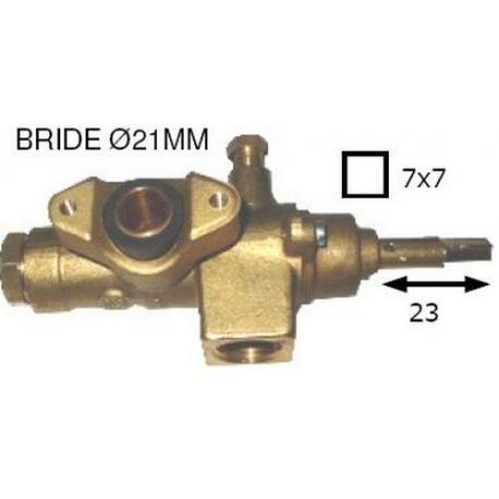 ROBINET GAZ AXE CARRE 4X4MM L25MM RAC THERMOCOUPLE M9X1 - TNQ876