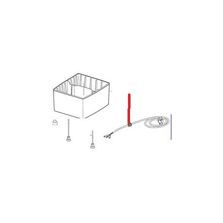 CABLE ALIM 4X1.5 LG 3M ORIGINE ROBOT COUPE - EBOB9229
