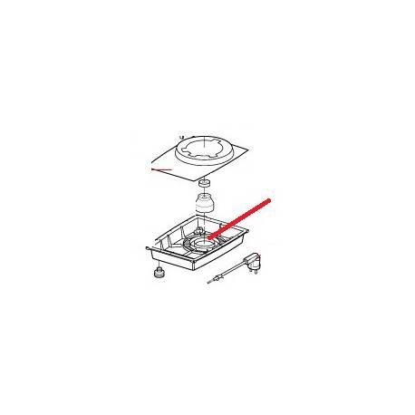 CALE MOTEUR/SOCLE R301/U ORIGINE ROBOT COUPE - EBOB8703