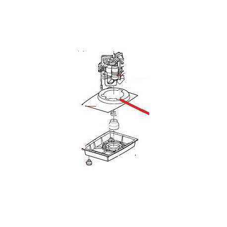 DEFLECTEUR MOTEUR R301U ORIGINE ROBOT COUPE - EBOB8783
