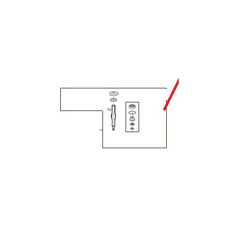 ENS AXE TRANSMIS. CL50D ORIGINE ROBOT COUPE - EBOB6028