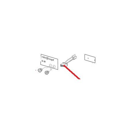 FAISCEAU MOTEUR CL50D TRI ORIGINE ROBOT COUPE - EBOB6966