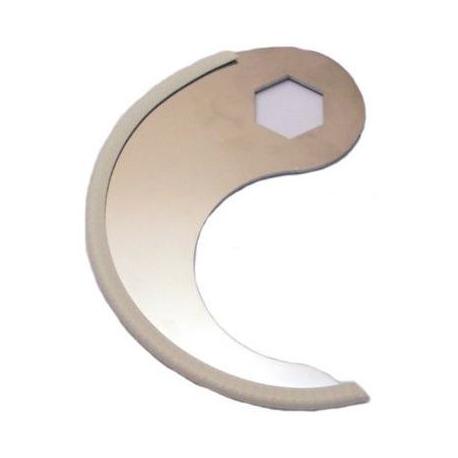 EBOB7227-LAME LISSE R25/R40 ORIGINE ROBOT COUPE