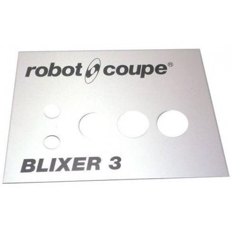PLAQUE FRONTALE BLIXER 3 ORIGINE ROBOT COUPE - EBOB8199