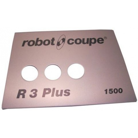PLAQUE FRONTALE R3+1500 ORIGINE ROBOT COUPE - EBOB8143