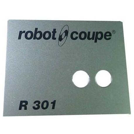 PLAQUE FRONTALE R301B ORIGINE ROBOT COUPE - EBOB8140