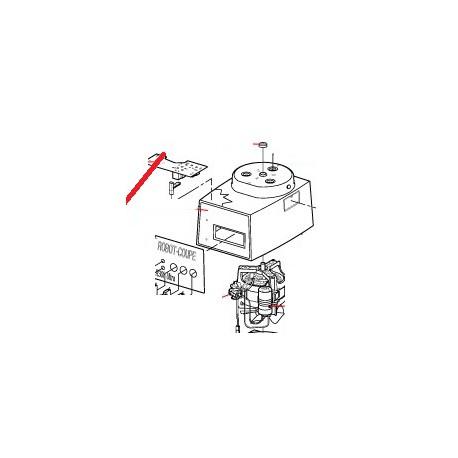 PLAQUE FRONTALE R3O1U ORIGINE ROBOT COUPE - EBOB8045