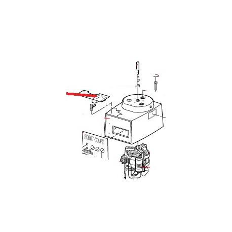 PLAT.R301U/R3 230/50-60/1 ORIGINE ROBOT COUPE - EBOB7048