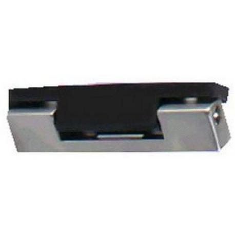 CHARNIERE CHROMEE MAT 96MM G/D CORPS MOB RILSAN NOIR - TIQ66708