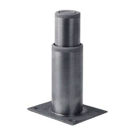 PIED INOX H125MM PLAQUE 102X82 - TIQ66956