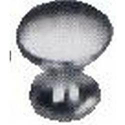 BOUTON CHROME 25X25X16