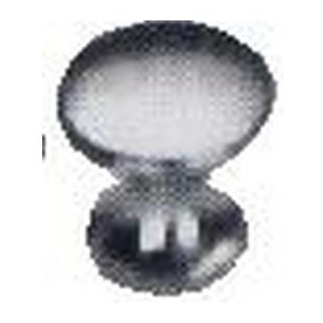TIQ66996-BOUTON CHROME 25X25X16