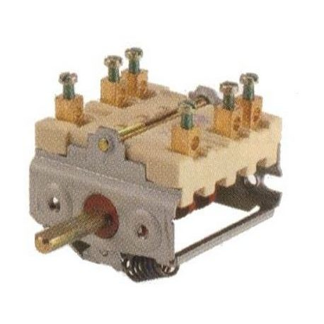 COMMUTATEUR 0-3 POSITIONS 250V 16A TMAXI 150°C - TIQ66298