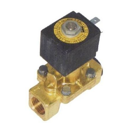 ELECTROVANNE LUCIFER 2VOIES 9W 24V AC 50-60HZ ENTREE 1/2F - TIQ68