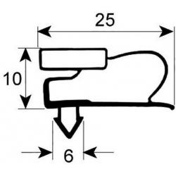 JOINT DE PORTE RIUGADA42S (2 PORTES) L:820MM L:565MM EXT - VNQ7298