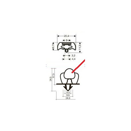 JOINT PVC SANS BANDE - TIQ63267