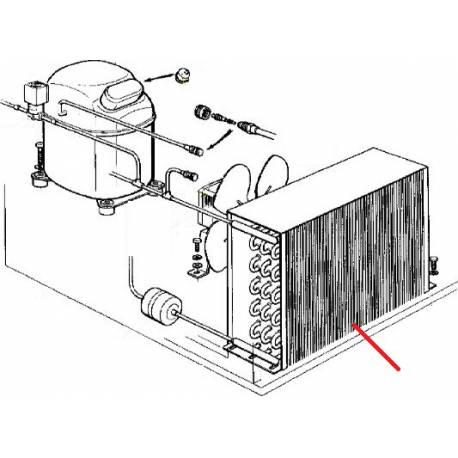 CONDENSEUR A AIR AC225-MF41 ORIGINE SCODIF - FPQ41