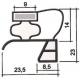 PROFIL PVC A CLIPSER L 2.55M - TIQ62865