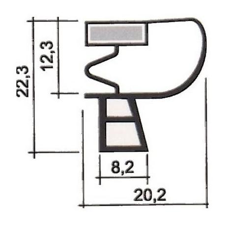 PROFIL PVC A CLIPSER L 2.55M - TIQ62866