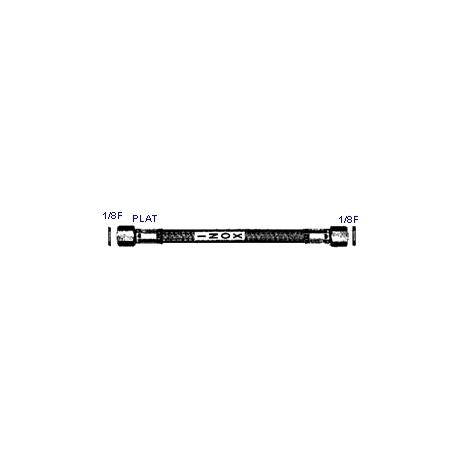 FLEXIBLE INOX 1/8F-1/8F PLAT - IQ6989