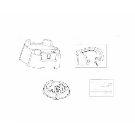 TORON DE CABLE + CONDENSATEUR ORIGINE NILFISK - AVQ8917