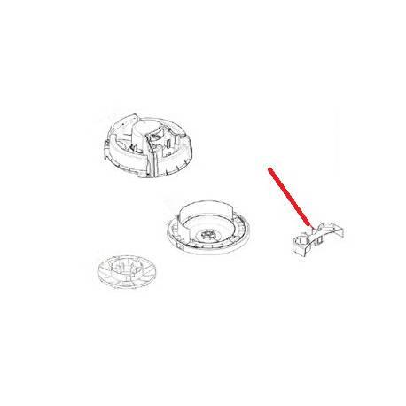 SUPPORT ACCESSOIRES GWD300 - SERIES ORIGINE NILFISK - AVQ8037