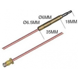 THERMOCOUPLE 850MM SIT M9X1