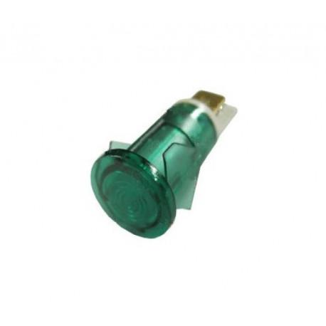 LAMPE TEMOIN VERT 230V D12MM - ORQ820
