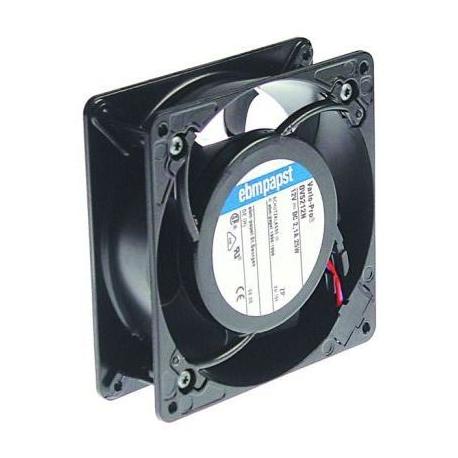 TIQ75521-VENTILATEUR AXIAL 127X127X38MM 21W 12V AC CONNEXION A FIL