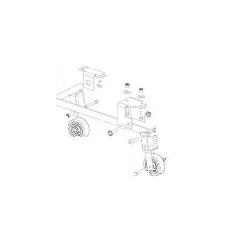 RONDELLE GRIFFE INT8 BM10 JX10 ORIGINE DITO SAMA-ELECTROLUX - QFQ5Q5088