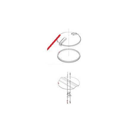 ECROU HU M5 INOX TR21 J X10 ORIGINE DITO SAMA-ELECTROLUX - QFQ5Q5024