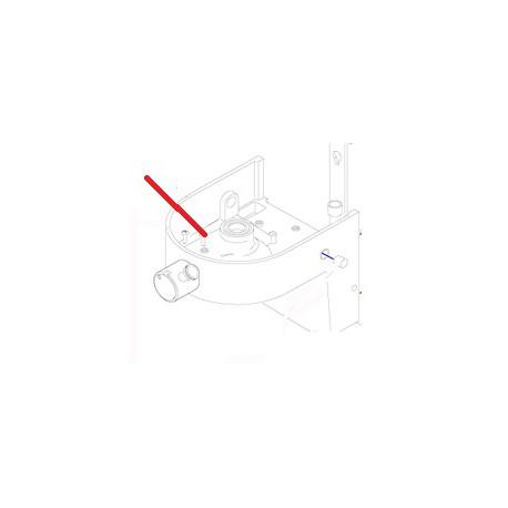 ECROU CARRE BE10/BM20 J X10 ORIGINE DITO SAMA-ELECTROLUX - QFQ5Q5034