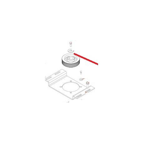 RONDELLE CS L6 ACZN 8B J X10 ORIGINE DITO SAMA-ELECTROLUX - QFQ5Q5164
