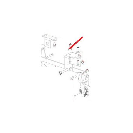 ECROU FREIN M8 J X10 ORIGINE DITO SAMA-ELECTROLUX - QFQ5Q5196