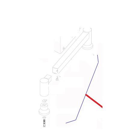 PIED DROIT EQUIPE XBE10 ORIGINE DITO SAMA-ELECTROLUX - QFQ5Q5214
