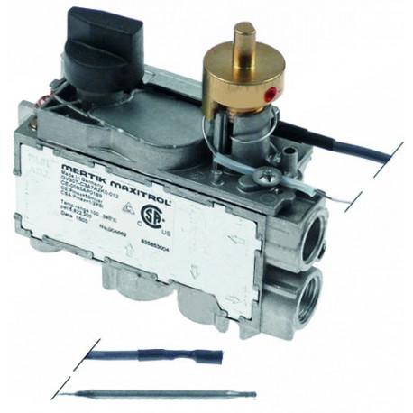 VANNE MERTIK GV31T-C5AXE GAZ ENTREE 3/8F SORTIE 38/F TMINI - TIQ75681