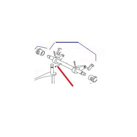 GOUPILLE G05 8X40 INOX J X10 ORIGINE DITO SAMA-ELECTROLUX - QFQ5Q7792
